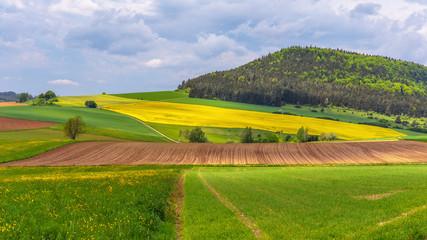 German Spring Countryside Landscape