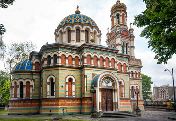 Alexander Nevsky Cathedral in Lodz, Poland