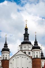 Steeples of Suprasl Orthodox Church Lavra