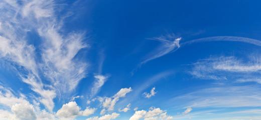 Summer sky background