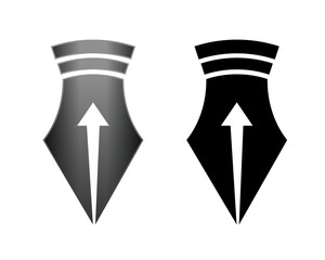 Arrow Inside Pen