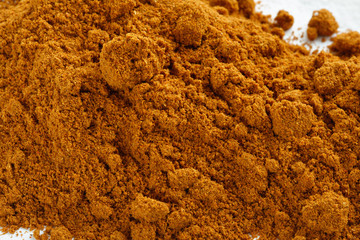 grated red pepper powder