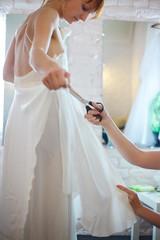 Bride in Workshop