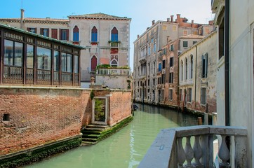 Typical view in san marco district, Venice, Italy