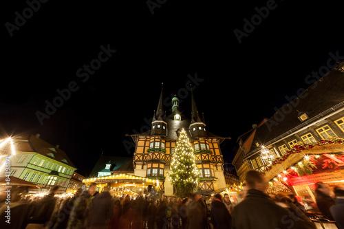 Weihnachtsmarkt Wernigerode In Den Höfen.Wernigerode Weihnachtsmarkt Stockfotos Und Lizenzfreie Bilder Auf
