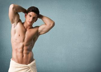 Men, Male, Shirtless.