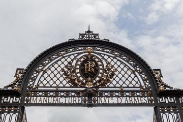 Portail de la Manufacture Nationales d'Armes à Saint Etienne