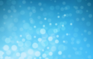 bokeh blue background abtrack