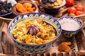 Oriental rice pilaf