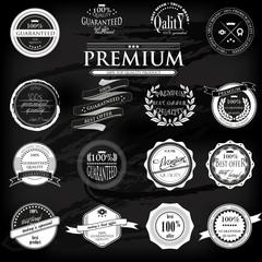 Retro Vintage 100 guaranteed Premium Quality Labels