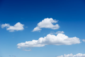 Nice blue sky and cloud