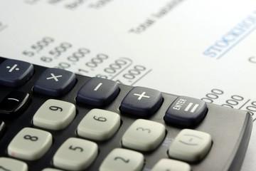 Business accounting profit statement