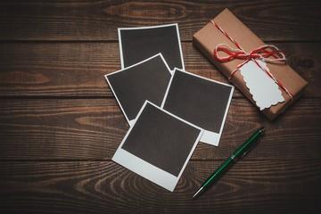 Gift, photo, box.