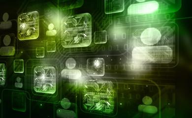 Best Concept of digital Technology background ..