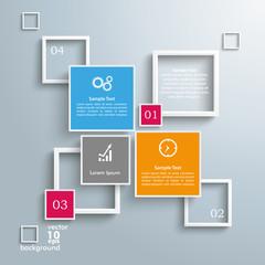 Squares Frames Design 4 Options