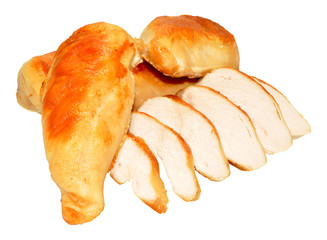 Cooked Chicken Breast Meat