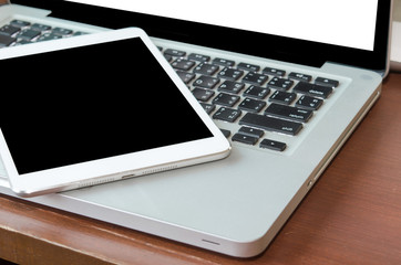 Tablet and Notebook.