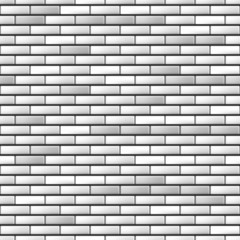 Seamless realistic brick wall