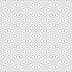 Geometric seamless repetitive particle stars pattern texture background