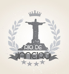 Grunge Rio de Janeiro icon laurel weath