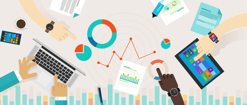 Bar Graph Chart Data Information Infographic