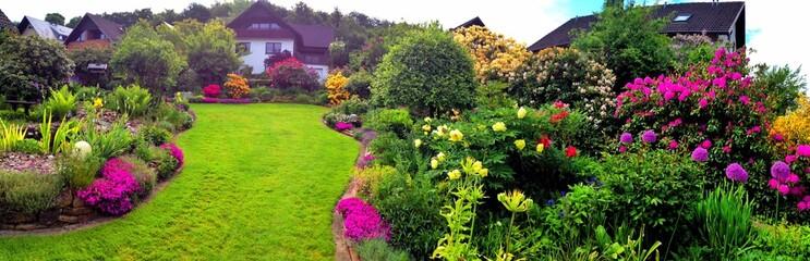Gartenanlage Panorama