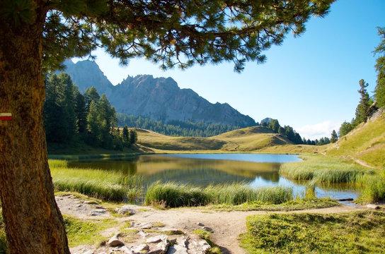 Lac Miroir (Queyras / Hautes-Alpes)