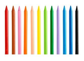 Crayons, colors, pencil.