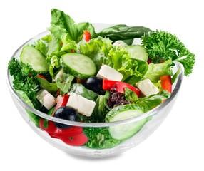 Fototapete - Salad, food, takeaway.