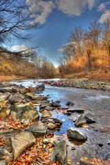 Autumn Appalachian Mountain Stream