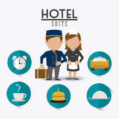 Hotel design.