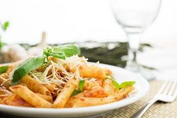 Pasta, dish, italian.