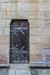 Petite porte de la Basilique Notre-Dame de Valfleury