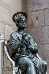 Saint Pierre avec la clé du Paradis à Valfleury