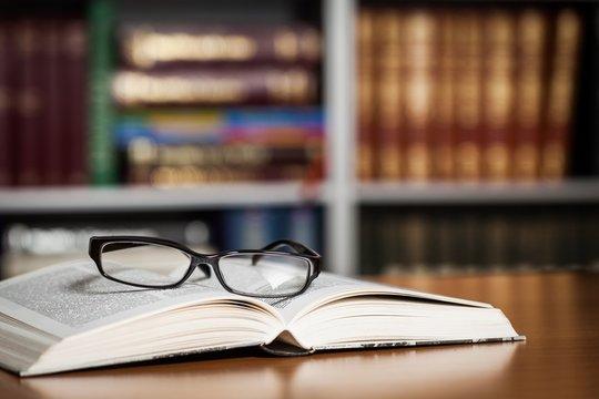 Book, campus, law.