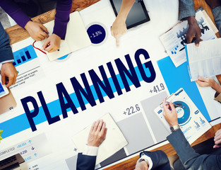 Planning Plan Business Strategy Thinking Concept