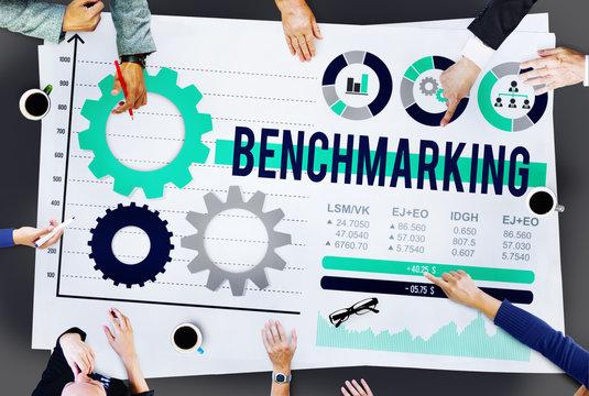 Benchmarking Development Business Effciency Concept