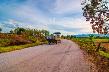 road at countryside