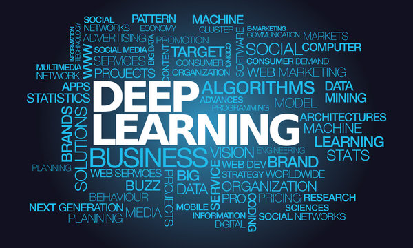 Deep learning data mining words text tag cloud