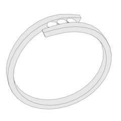 2d cartoon image of ring