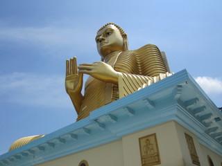Buddha Statue, Dambulla Sri lanka