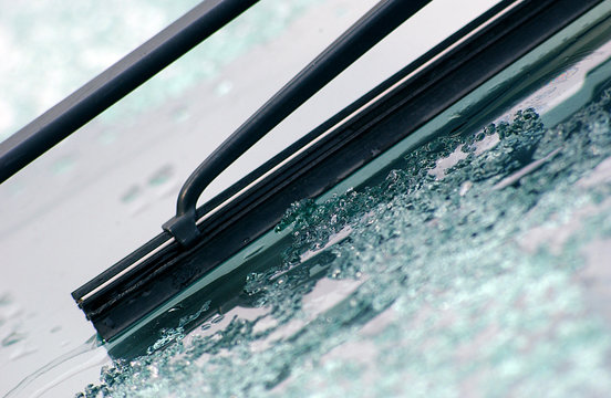 car wiper with frost