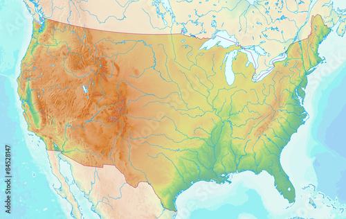 Usa Karte Ohne Staaten.Karte Der Usa Ohne Beschriftung Stockfotos Und Lizenzfreie Bilder