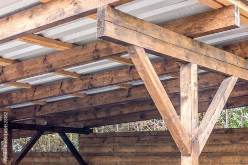 carportdach stockfotos und lizenzfreie bilder auf bild 84528162. Black Bedroom Furniture Sets. Home Design Ideas