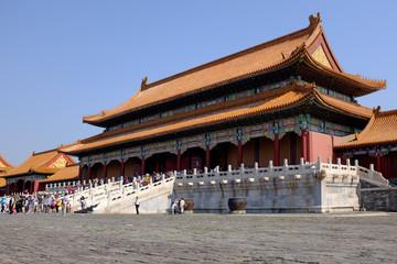 Palastanlage in der verbotenen Stadt in Peking (China)