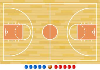 Basketball Court, Basketball Play, Sport