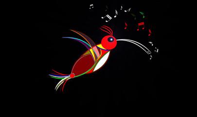 Uccello canterino
