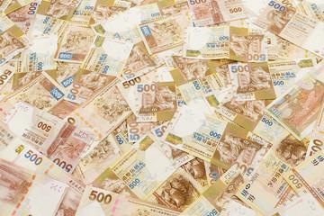 Group of Five hundred Hong Kong dollar