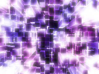 purple blocks abstract background