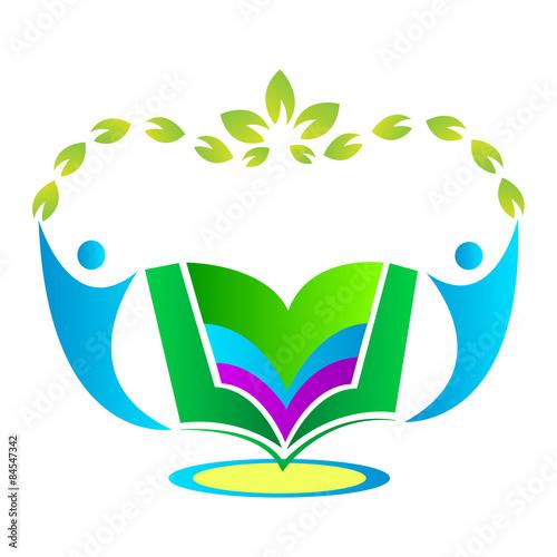 Education Logo Design Isolated On White Background